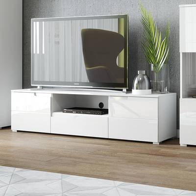 """Orren Ellis Tysen High Gloss Tv Stand For Tvs Up To 60"""" & Reviews Pertaining To Most Popular Maddy 70 Inch Tv Stands (Photo 14 of 25)"""