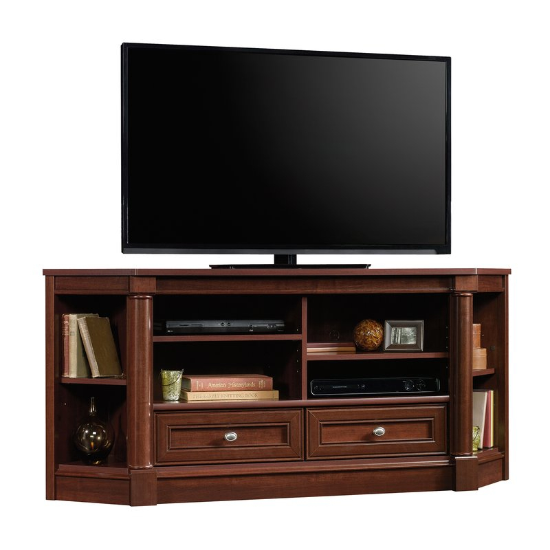 """Orviston Corner Tv Stand For Tvs Up To 60"""" & Reviews (Photo 1 of 25)"""