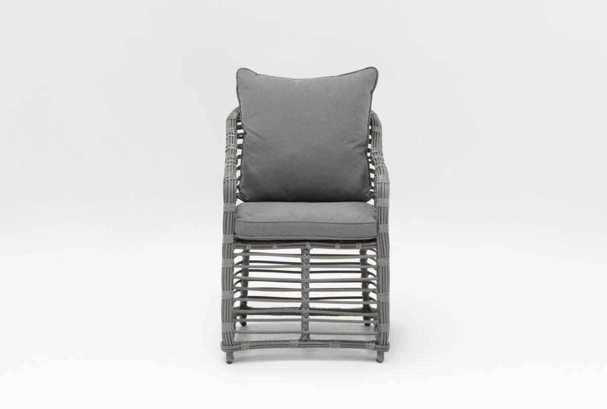 Outdoor Koro Dining Chair | Living Spaces Within Outdoor Koro Swivel Chairs (Photo 5 of 25)