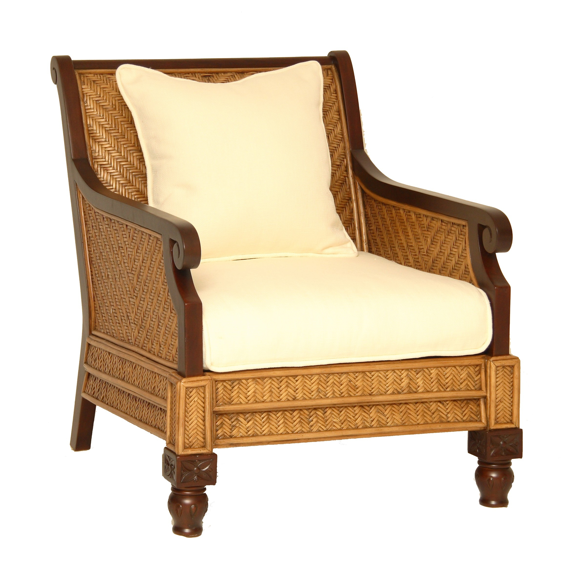 Padma's Plantation Trinidad Arm Chair | Live Well Stores For Liv Arm Sofa Chairs (View 19 of 25)