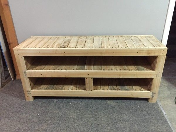 Pallet Entertainment Unit (View 12 of 25)