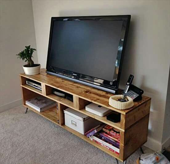 Pallet Furniture, Pallet Tv Ve Diy (View 4 of 25)
