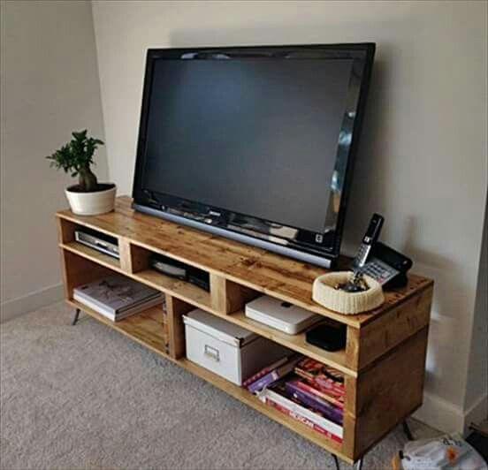 Pallet Furniture, Pallet Tv Ve Diy (Image 14 of 25)