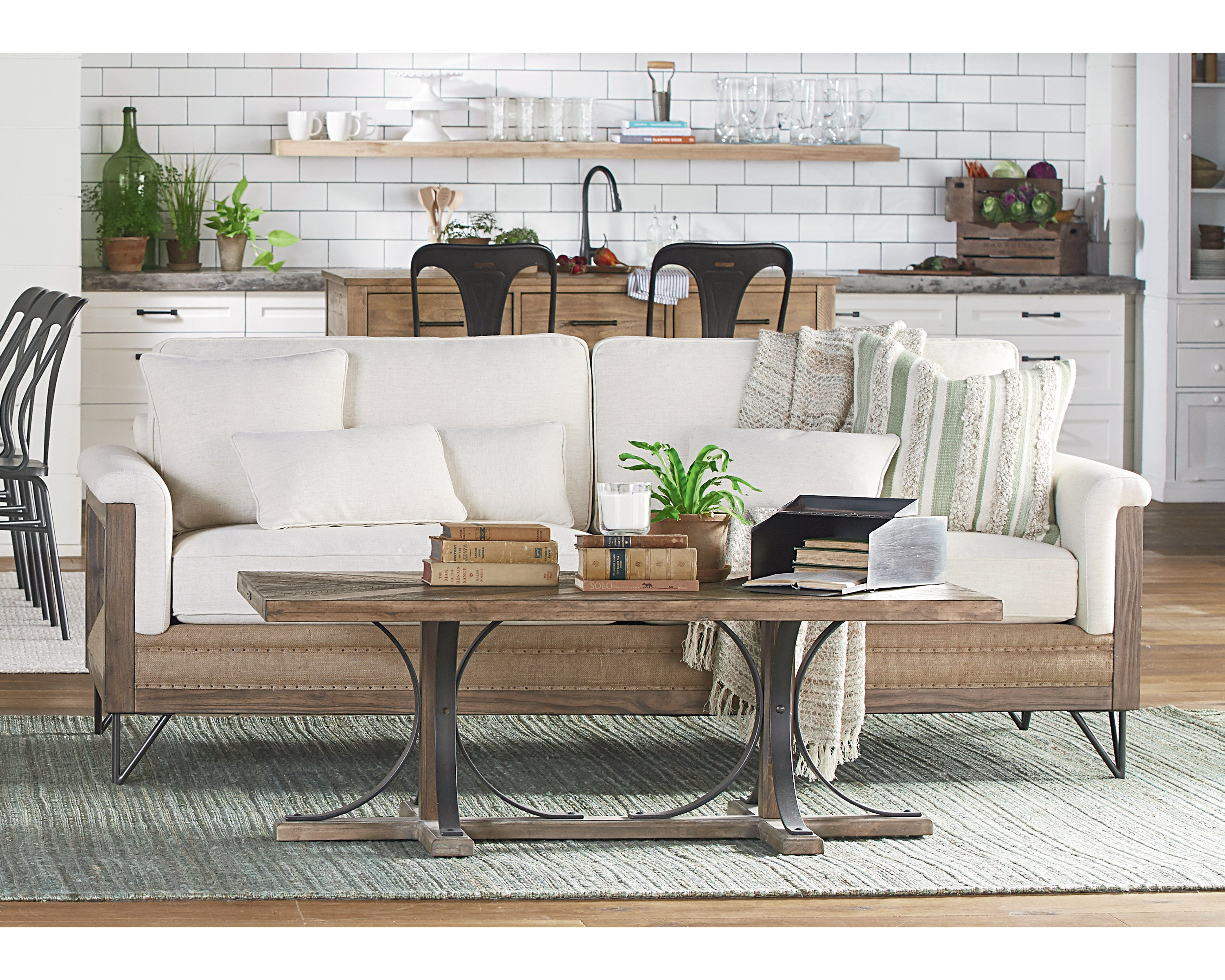 Paradigm Sofa - Magnolia Home pertaining to Magnolia Home Paradigm Sofa Chairs By Joanna Gaines
