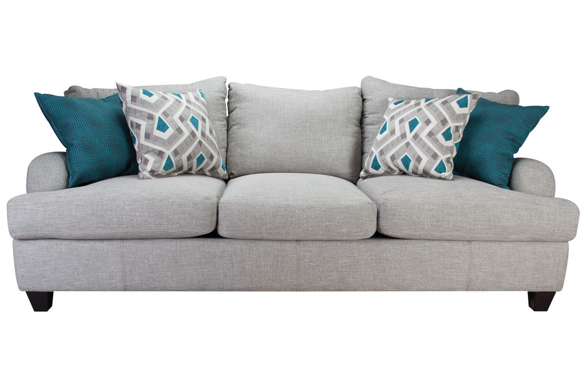 Paradise Sofa At Gardner White With Allie Dark Grey Sofa Chairs (View 11 of 25)