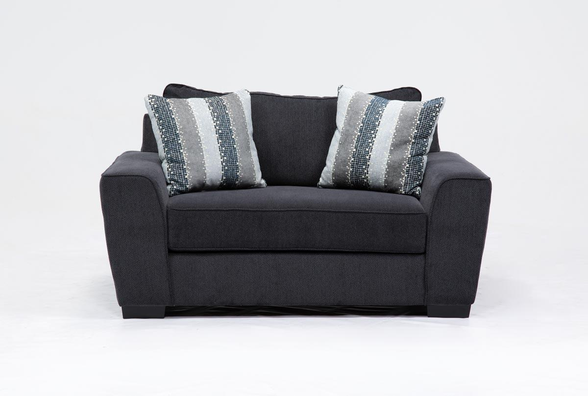 Parker Chair | Living Spaces For Sheldon Oversized Sofa Chairs (View 4 of 25)