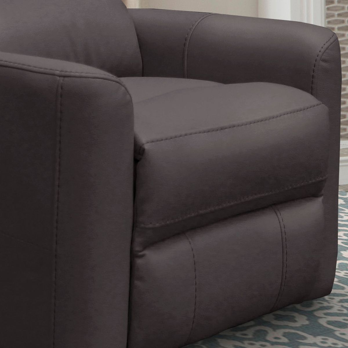 Parker Living Hercules Anywhere Power Swivel Recliner In Chocolate With Hercules Chocolate Swivel Glider Recliners (View 13 of 25)