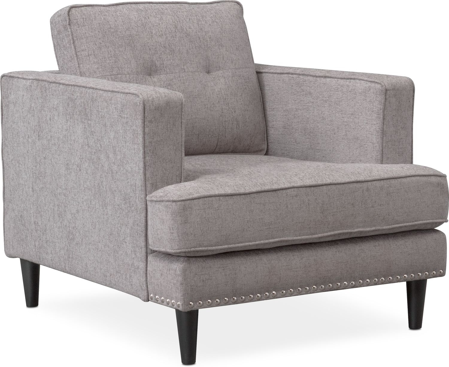 Parker Sofa, Chair And Ottoman Set | Value City Furniture And Mattresses Throughout Parker Sofa Chairs (Image 21 of 25)