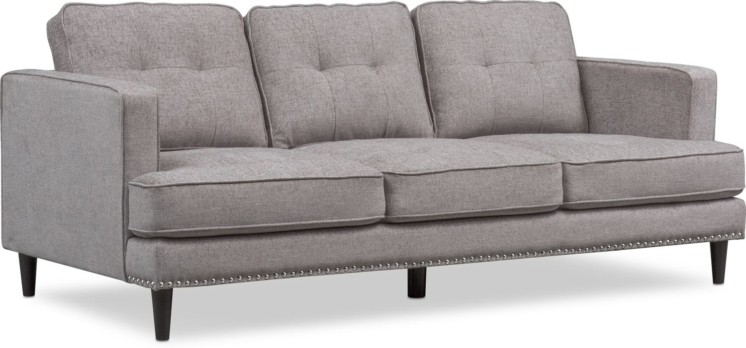 Parker Sofa, Chair And Ottoman Set | Value City Furniture And Mattresses Within Parker Sofa Chairs (View 18 of 25)