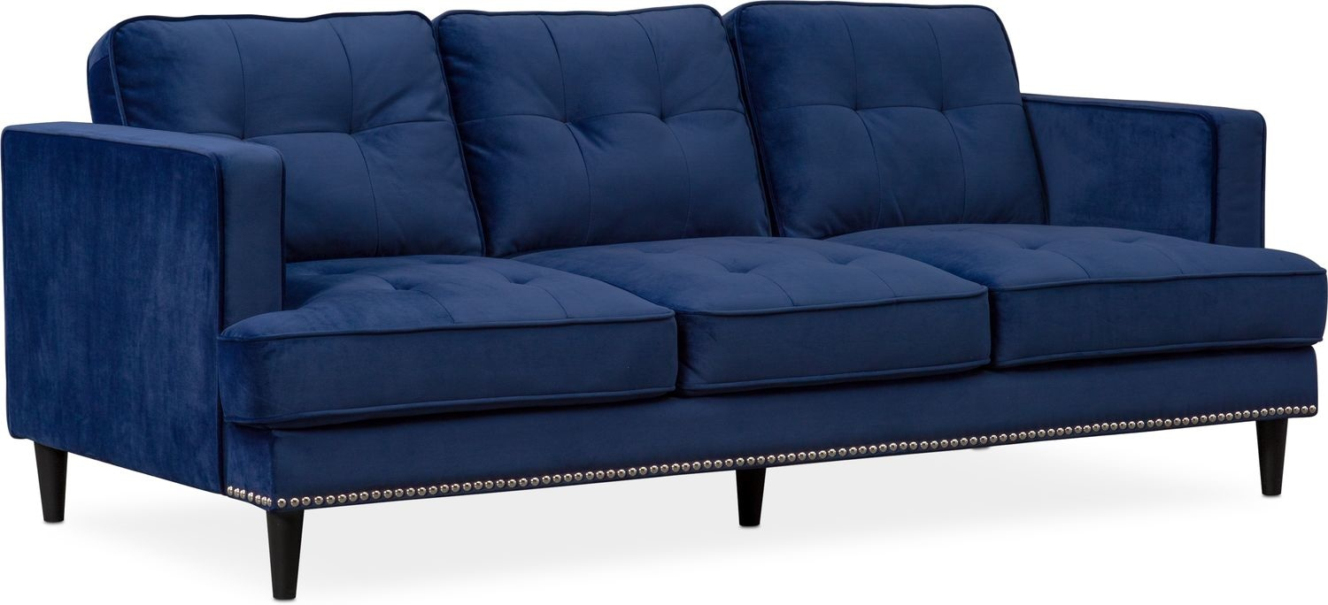 Parker Sofa, Chair And Ottoman Set | Value City Furniture And Mattresses Within Parker Sofa Chairs (View 2 of 25)