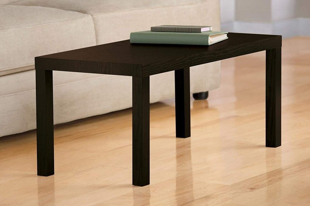 Parsons Coffee Table Modern Travertine – Cuthaton With Well Known Parsons Black Marble Top & Dark Steel Base 48X16 Console Tables (View 16 of 25)
