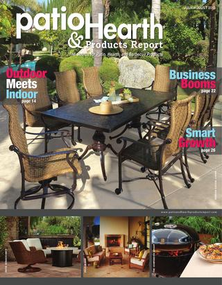 Patio & Hearth Products Report July/august 2015Peninsula Media In Fashionable Casey Umber 66 Inch Tv Stands (View 14 of 25)