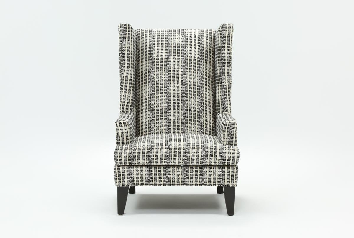 Patterson Accent Chair | Living Spaces For Patterson Ii Arm Sofa Chairs (Image 9 of 25)