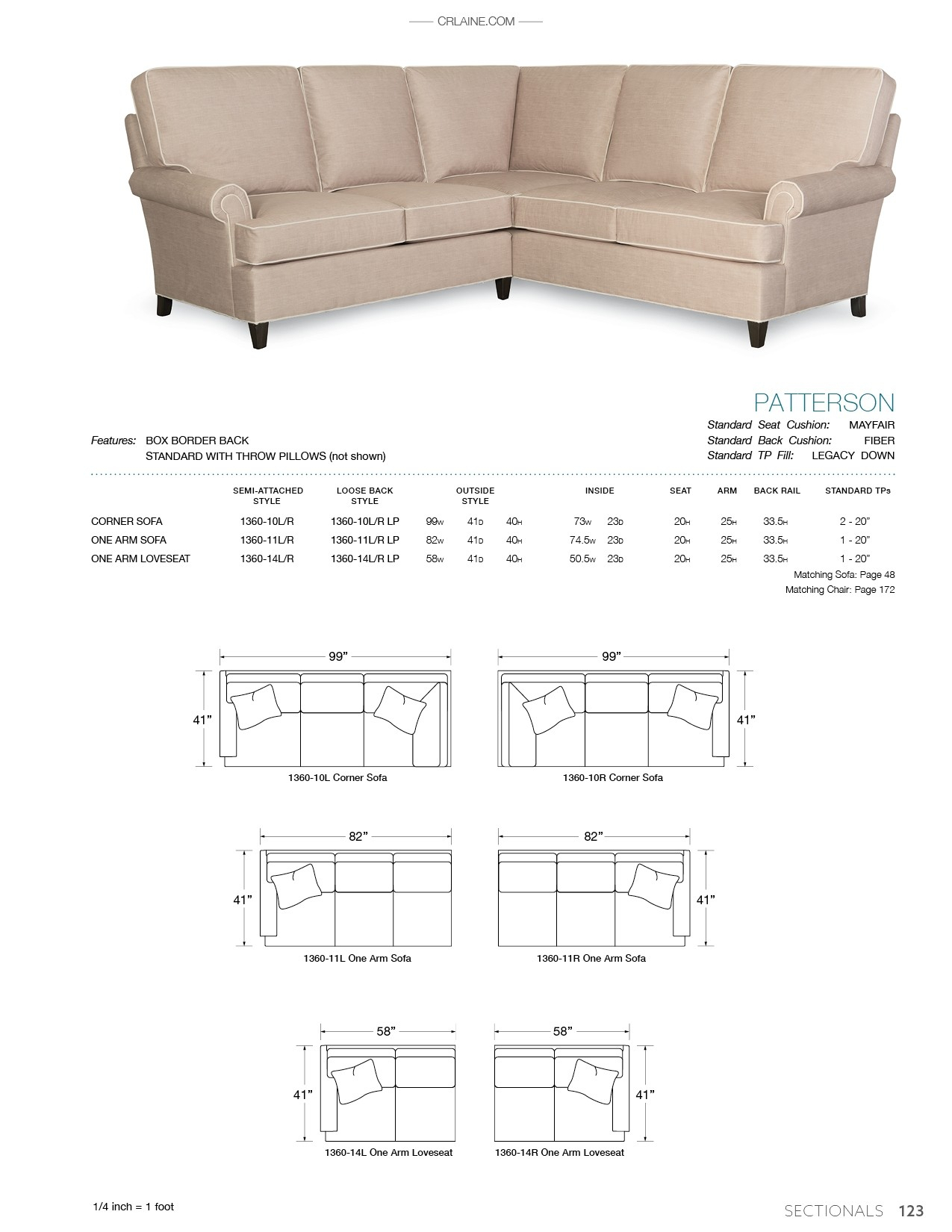 Patterson – Products Pertaining To Patterson Ii Arm Sofa Chairs (Image 8 of 25)