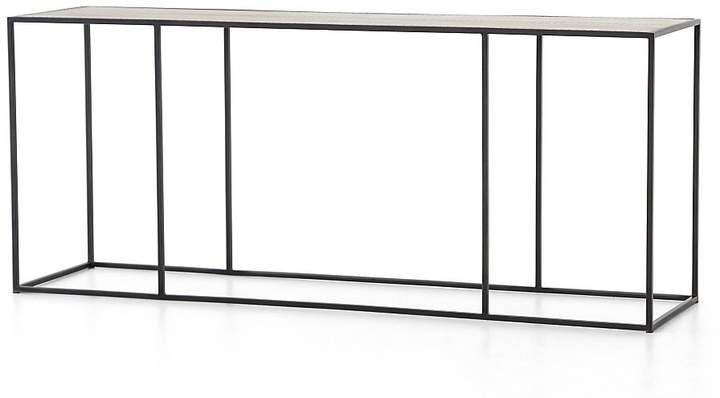 Phillip Brass Console Table #slender#metal#console (View 4 of 25)