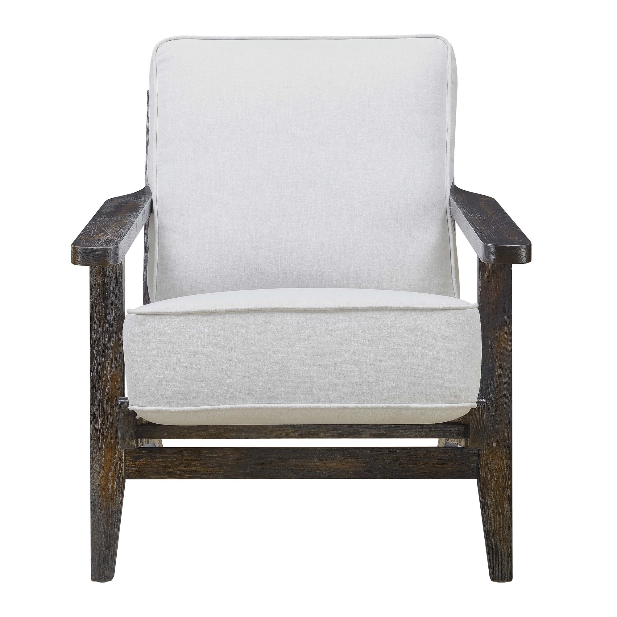 Picket House Furnishings Mercer Accent Chair In Onyx W/ Espresso Regarding Mercer Foam Swivel Chairs (View 10 of 25)