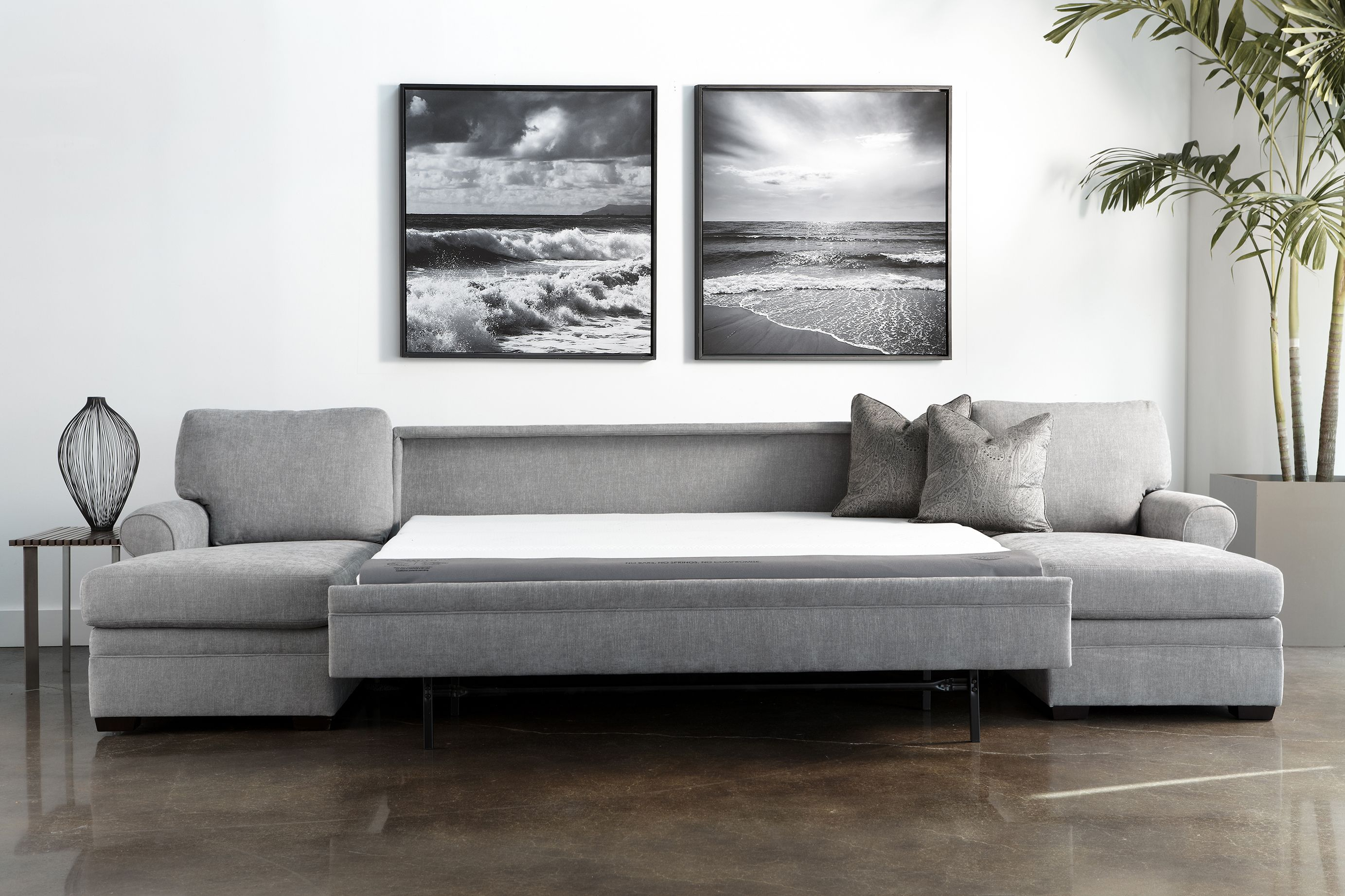 Pinbedrooms & More On American Leather Comfort Sleeper Sofas Regarding Gina Grey Leather Sofa Chairs (Image 20 of 25)