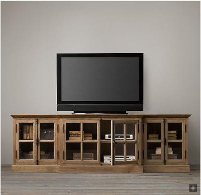 Pindecor Look Alikes On Restoration Hardware Look Alikes inside Most Recent Wyatt 68 Inch Tv Stands