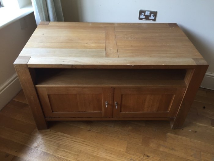 Pine Tv Stand With Storage Drawers For Sale In Rathfarnham, Dublin In Most Recently Released Pine Tv Stands (Image 10 of 25)