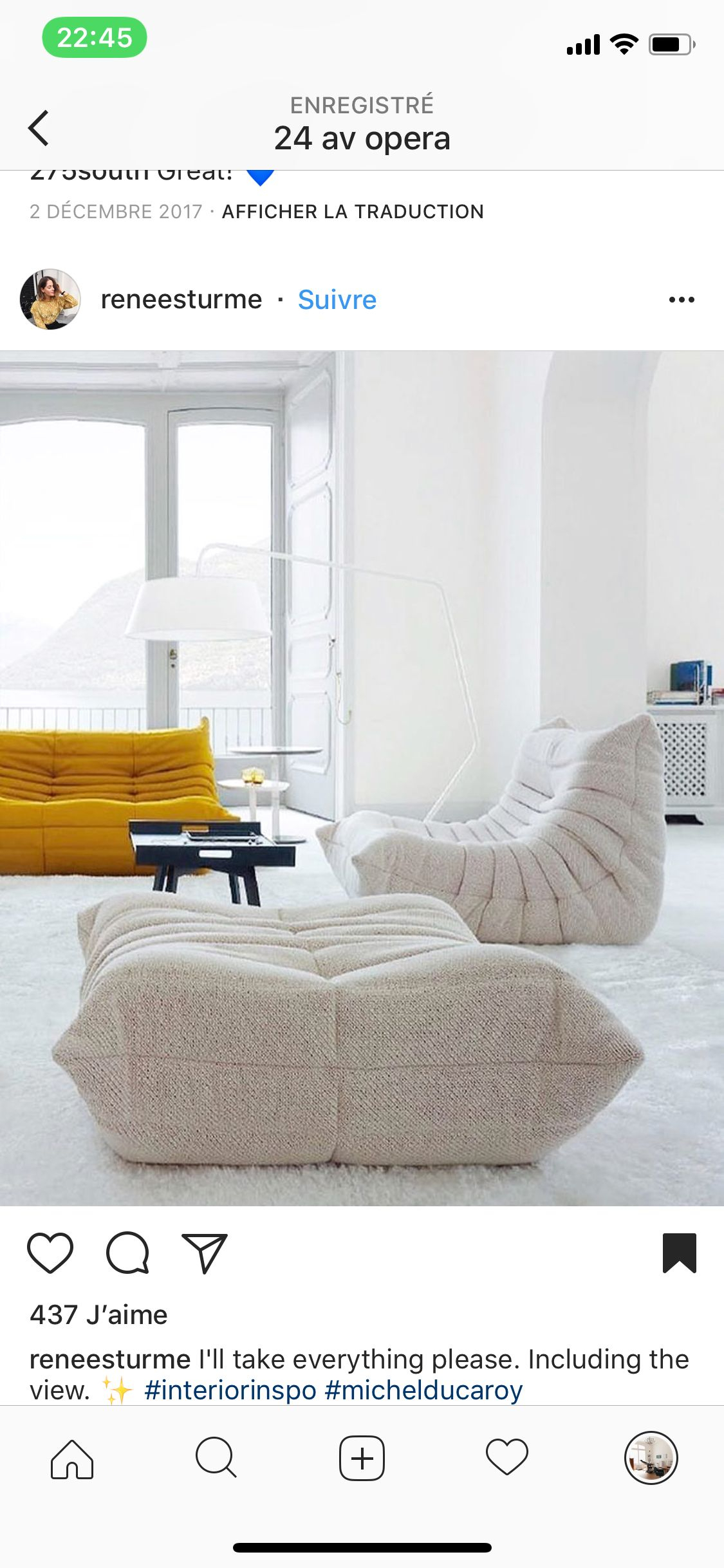 Pinpatrick Cohen-Scali On 24 Av Opéra In 2018 | Pinterest regarding Cohen Foam Oversized Sofa Chairs