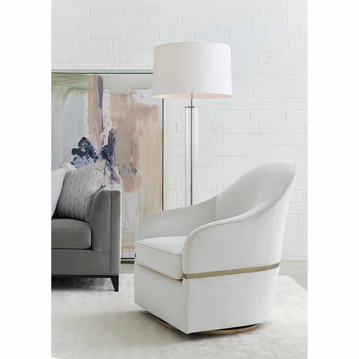 Place Direct | Contemporary Seating With Swivel Motion Or Casters Inside Twirl Swivel Accent Chairs (View 20 of 25)