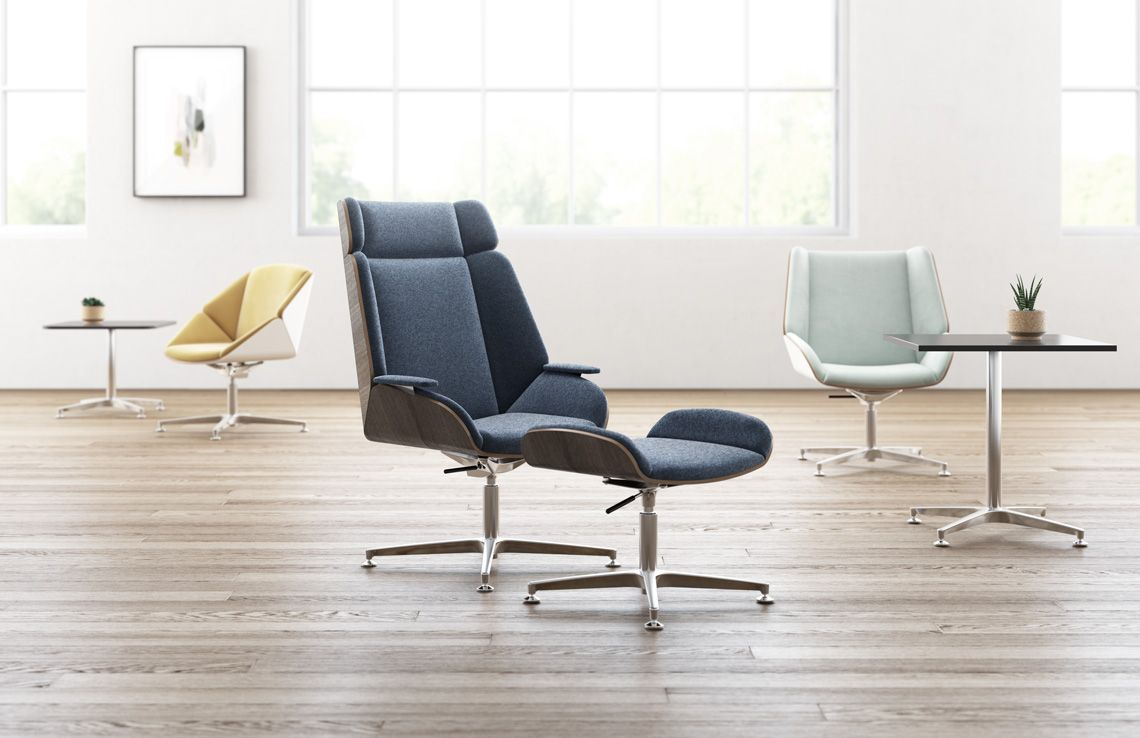 Placed In Sprawling Landscapes, Away From Designated Work Areas Within Theo Ii Swivel Chairs (View 23 of 25)