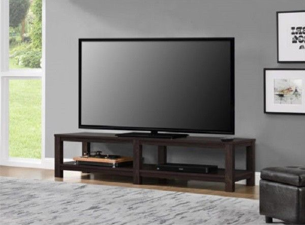 Popular Century Blue 60 Inch Tv Stands Inside Tv Stand 65 Inch Flat Screen Entertainment Media Home Center Console (Image 12 of 25)