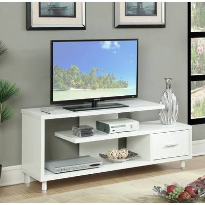 "Popular Edwin Grey 64 Inch Tv Stands With Wrought Studio Andujar Tv Stand For Tvs Up To 65"" & Reviews (View 8 of 25)"