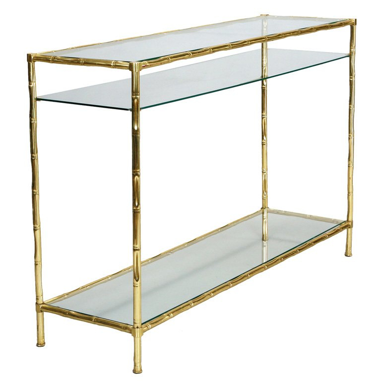 Popular Elke Marble Console Tables With Brass Base within Appealing Brass Console Table With Elke Marble Console Table With