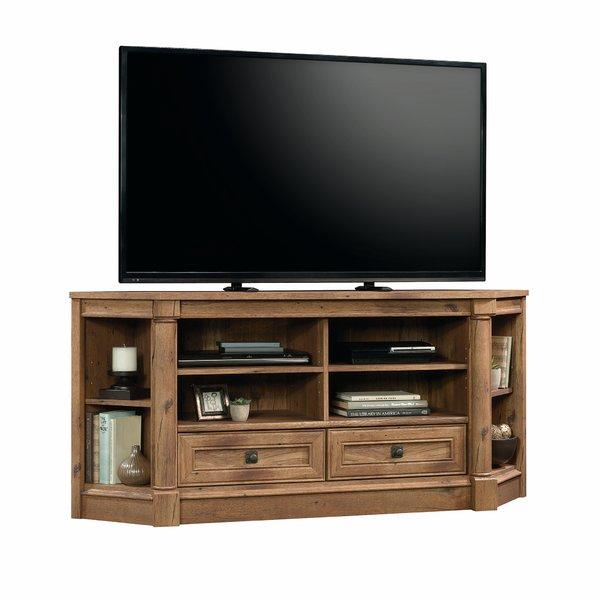 Popular Low Oak Tv Stands Inside Corner Tv Stands You'll Love (Image 16 of 25)