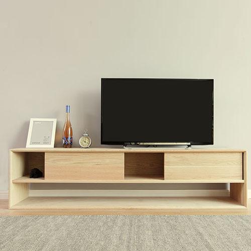 Popular Oak Tv Cabinet With Doors Within Oak Tv Cabinet Modern Minimalist Wood Cabinets With Doors Locker (Image 19 of 25)