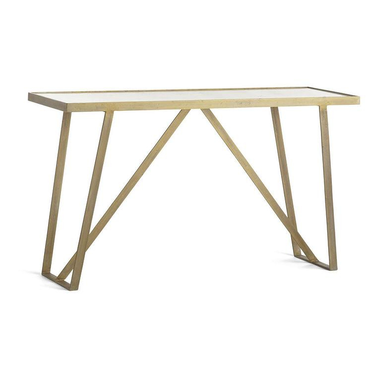 Popular Parsons White Marble Top & Stainless Steel Base 48X16 Console Tables Regarding Marble Top Console Table – Bwburnett (Image 20 of 25)