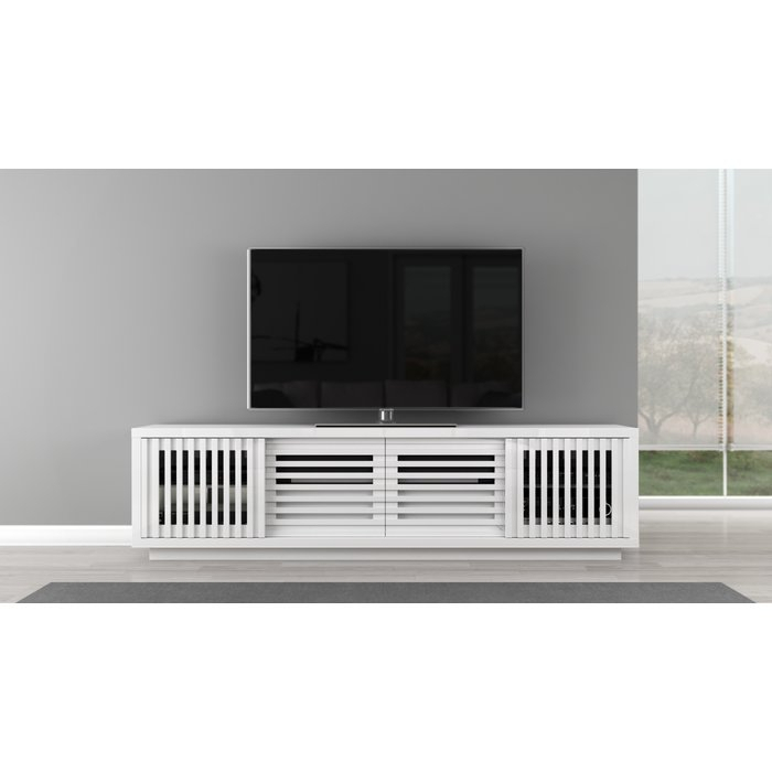 "Popular Rowan 64 Inch Tv Stands For Furnitech Signature Home Tv Stand For Tvs Up To 78"" & Reviews (Image 18 of 25)"