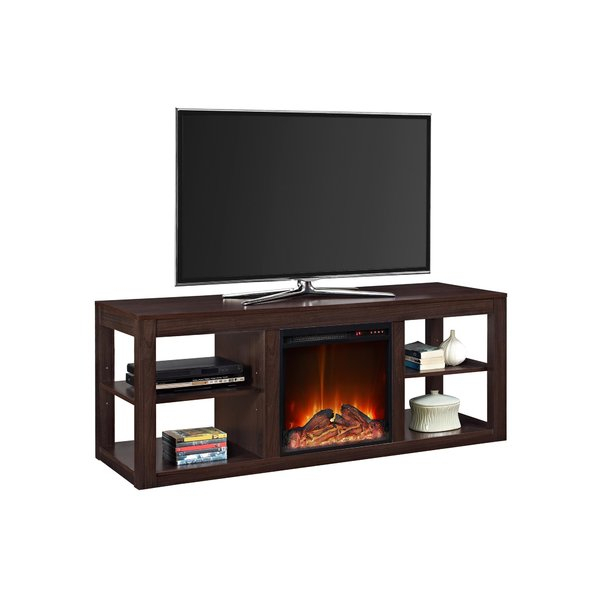 Popular Sinclair White 54 Inch Tv Stands Regarding Fireplace Tv Stands & Entertainment Centers You'll Love (Image 13 of 25)