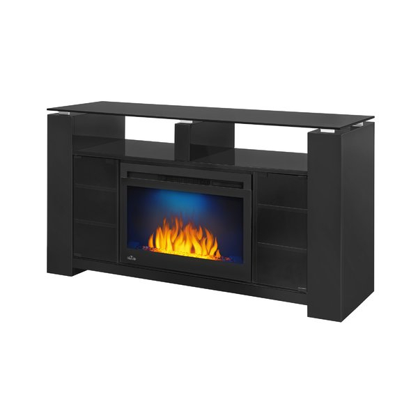 Popular Sinclair White 68 Inch Tv Stands In Electric Fireplace Barn Door (View 4 of 19)