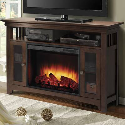"Popular Wyatt 68 Inch Tv Stands inside Darby Home Co Flintwood Tv Stand For Tvs Up To 55"" With Fireplace"