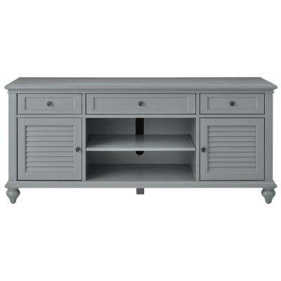 Preferred Abbott Driftwood 60 Inch Tv Stands Inside Gray – Tv Stands – Living Room Furniture – The Home Depot (View 9 of 25)