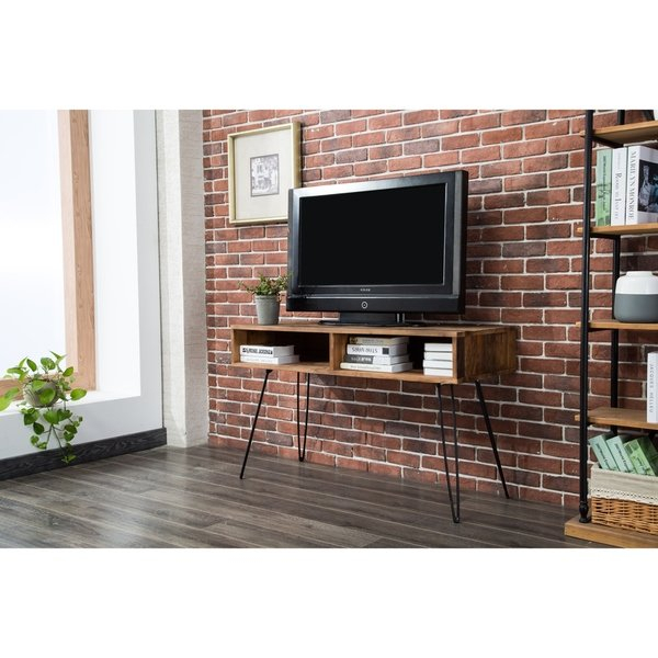 Preferred Century Blue 60 Inch Tv Stands Within Shop Carbon Loft Lee Reclaimed Fir 48 Inch Tv Stand – Free Shipping (View 17 of 25)
