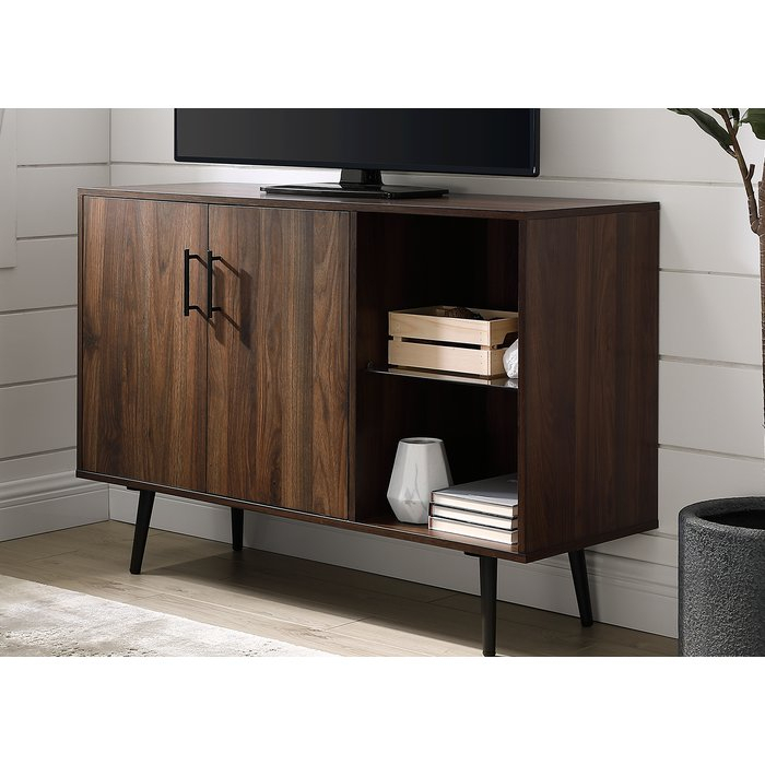 """Preferred Edwin Grey 64 Inch Tv Stands With Regard To George Oliver Nathanial Tv Stand For Tvs Up To 48"""" & Reviews (View 12 of 25)"""