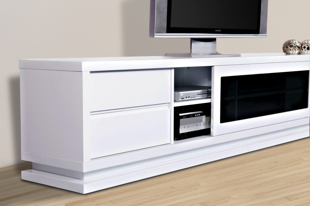 Preferred Gloss White Tv Cabinets Pertaining To Gloss White Tv Unit  (Image 13 of 25)