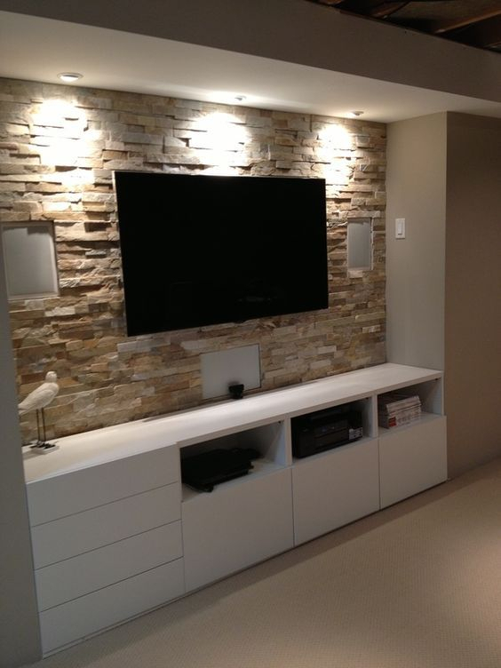 Preferred Ikea Built In Tv Cabinets For Basement Stone Entertainment Center With Ikea Cupboards Www (Image 18 of 25)