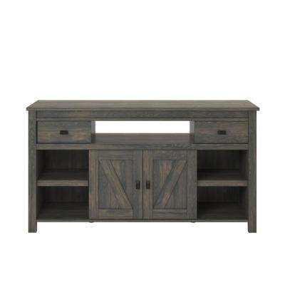 Preferred Kenzie 60 Inch Open Display Tv Stands For Gray – Tv Stands – Living Room Furniture – The Home Depot (Image 15 of 25)