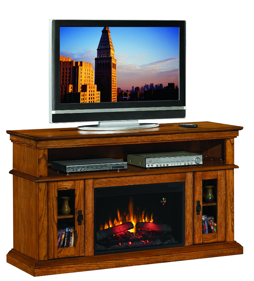 Preferred Kilian Grey 60 Inch Tv Stands With Unique Ashley Electric Fireplace Tv Stand (View 11 of 12)