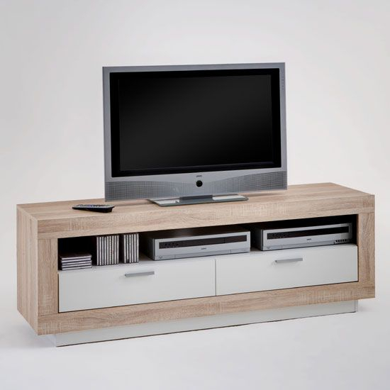 Preferred Mayfield Plasma Console Tables with regard to Chat Oak And White Tv Stand Sale