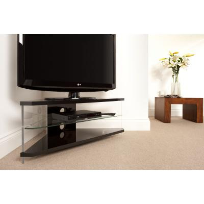 Preferred Techlink Air Tv Stands Within Techlink Ai110Bc Air Corner Tv Stand For Up To 46 Inches – Planet Gizmo (Image 15 of 25)