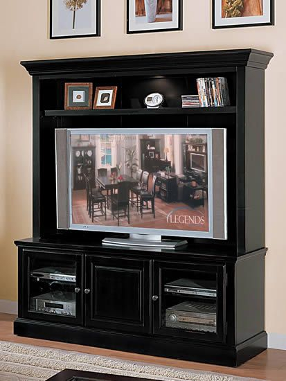 Preferred Willa 80 Inch Tv Stands With Regard To Forest Glenn Plasma 65 Inch Tv Console/ Tv Stand With Lighted Hutch (Image 16 of 25)