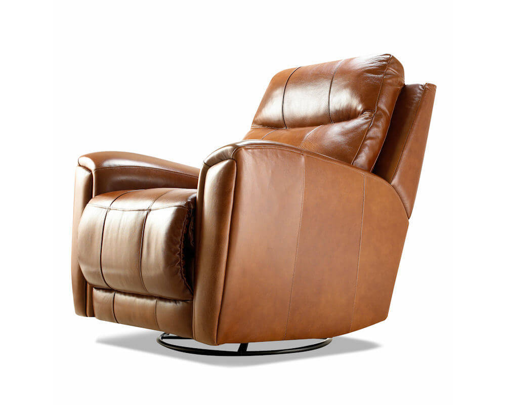 Probably Outrageous Nice Leather Reclining Armchair And Footstool Throughout Amala White Leather Reclining Swivel Chairs (View 20 of 25)