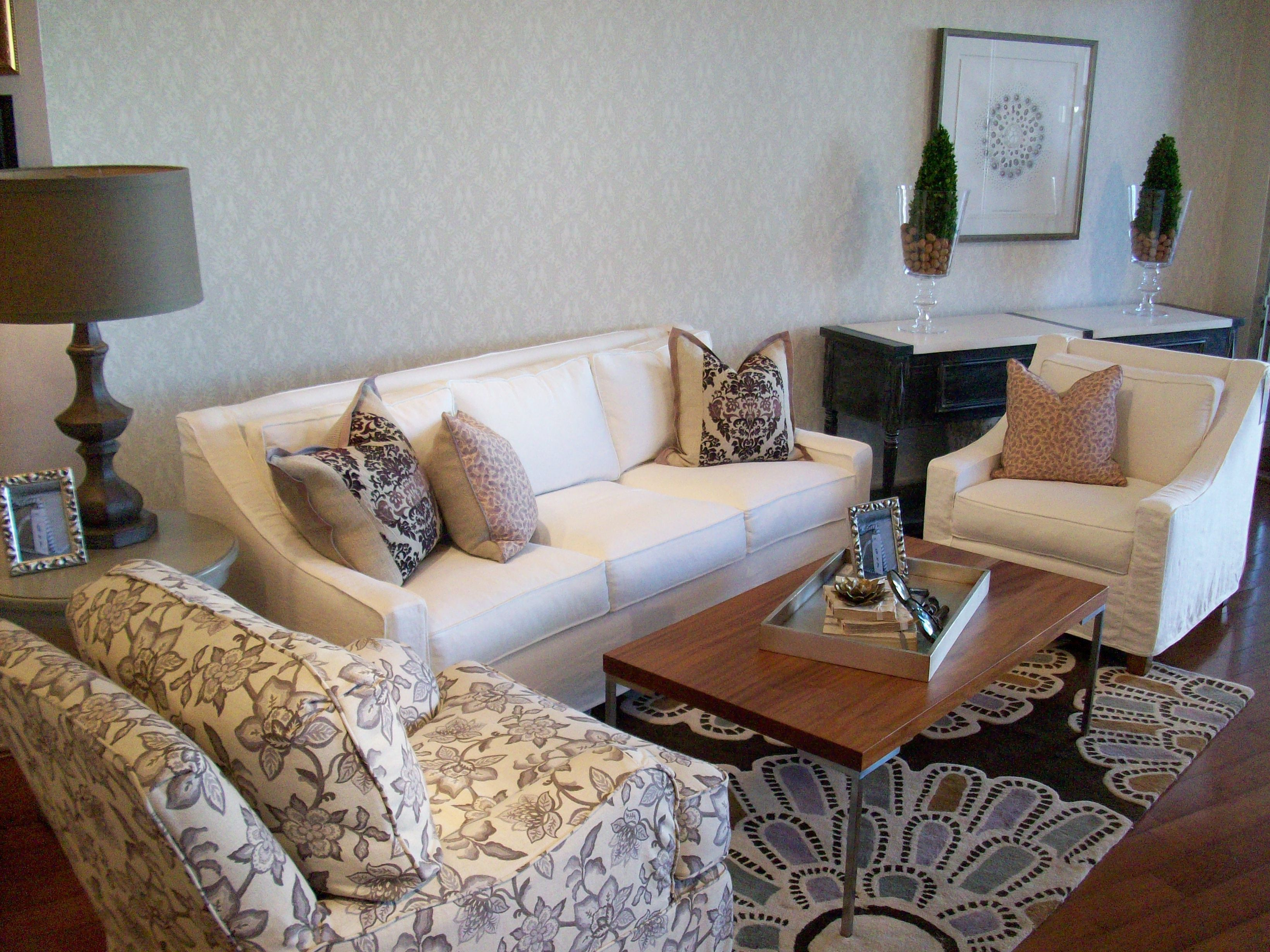 Quatrine - Houston. New Grace Sofa And New Grace Chair In Cream inside Grace Sofa Chairs