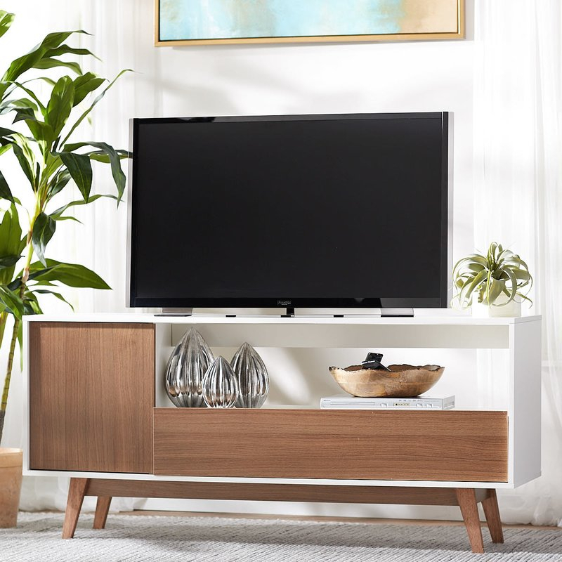"""Quincy Tv Stand For Tvs Up To 65"""" For Well Liked Lauderdale 62 Inch Tv Stands (Image 12 of 25)"""