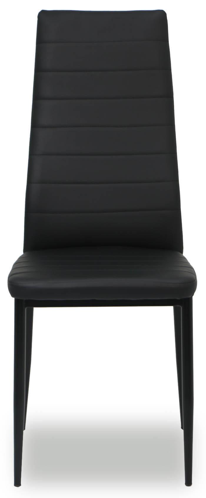 Quinn Dining Chair Black | Furniture & Home Décor | Fortytwo In Quinn Teak Sofa Chairs (View 4 of 25)